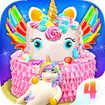 Unicorn Cake 4 - Sweet Unicorn Desserts Maker