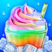 Unicorn Ice Cream Milkshake - Super Ice Drink