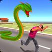 Angry Anaconda Snake Rampage: City Attack