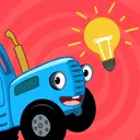 The Blue Tractor: 123 Learning Games for Babies!