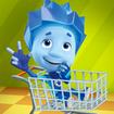 Fiksiki Supermarket Shopping Games for Kids