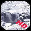 آبشار زمستانی (زنده) HD