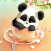 Sleepy Panda Live Wallpaper