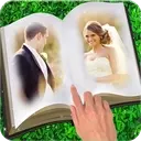 Book Dual Photo Frame