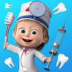 Masha and the Bear: Free Dentist Games for Kids