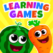 Funny Food! ABC Learning Games for Kids, Toddlers