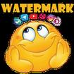 واترمارک متن،لوگو واستیکر روی عکس