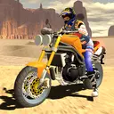 Fast Motorcycle Driver Extreme