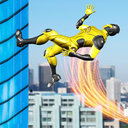 Super Speed Light Hero Games City Rescue Mission