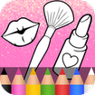 Glitter Beauty Coloring Book ❤