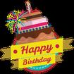 Birthday Stickers for Whatsapp - WAStickerApps