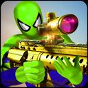 Superhero Shooting battle: Strange Spider Combat