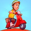 Deliveryman: running bike race 3D