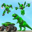 Dino Robot Car Game – Monster Truck Robot games