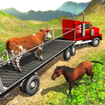 Offroad Farm Animal Truck Driving Game 2020 - بازی رانندگی کامیون حمل دام