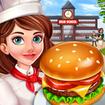High School Café Girl: Burger Serving Cooking Game