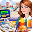 High School Café Cash Register Girl