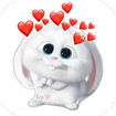Cute Snowball Stickers WAStickerApps