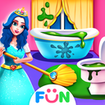 Princess Home Girls Cleaning – Home Clean up Games