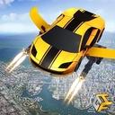Flying Robot Car Games - Robot Shooting Games 2020