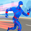 Police Light Speed Robot Hero: Crime City Shooting