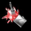 تم قرمز درخشان GO Launcher & Locker