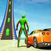 Superhero Car Stunt: Car Games