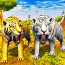 Virtual Angry Tiger Family Sim