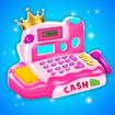Pink Princess Grocery Market Cash Register