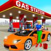 Gas Station Car Wash Car Driving Sim: Parking Game