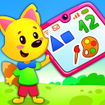 Learn colors and shapes, 123 numbers for kids!