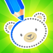 Baby drawing for kids - easy animal drawings