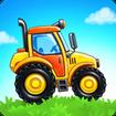 Farm land and Harvest - farming kids games