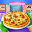 Pizza Maker Chef Baking Kitchen