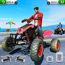 ATV City Traffic Racing Games 2019