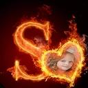Fire Alphabet Photo Frames