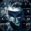 Anonymous Smoke Keyboard Theme