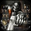 Badace Skull Guns Keyboard - cool gun theme