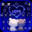 Bear Couple Love Keyboard Theme