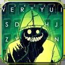 Creepy Smile Keyboard Theme