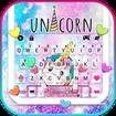 Cute Dreamy Unicorn Keyboard Background