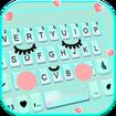 Cute Sweet Face Keyboard Theme