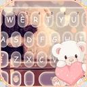 Cute Bear Keyboard Theme