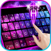 Galaxy 3d Hologram Keyboard Theme