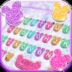 Girly Glitter Minny Keyboard Theme