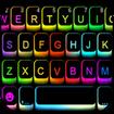 LED Cool Keyboard-RGB Keyboard Background