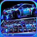 Racing Sports Car Keyboard Theme