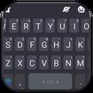 Simple Grey Keyboard Theme