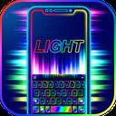 Super Neon 3d Keyboard Theme
