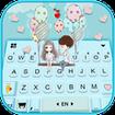 Sweet Couple Love 2 Keyboard Theme